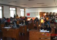 河南街道举行入党积极分子党章理论考试