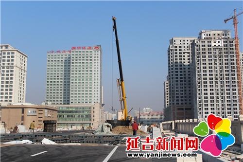 延吉市部分人大代表视察城建项目进展情况