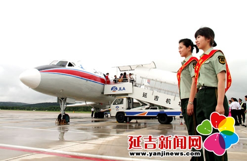延吉机场旅客吞吐量突破百万人次