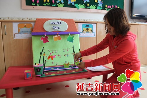 六一幼儿园自制区域材料尽展特色与亮点