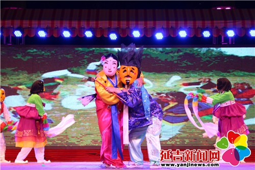 节是中华民族的传统节日,也是朝鲜族的传统节日,今日延吉大舞台迎