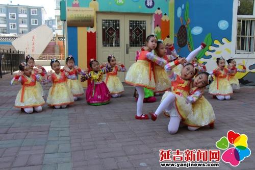 """延吉市首家""""亿未来社区儿童运动馆""""在公园街道启动"""