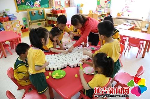 延吉新闻 > 正文        在延吉市六一幼儿园,中二