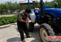 延吉市依兰镇狠抓农机年检保安全