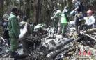 印尼运出坠机遇难者遗体 遇难者均为印尼人