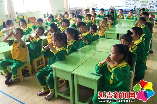 向阳幼儿园开展推广普通话活动