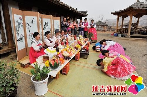 【微·延吉】朝鲜族人一生三次大桌都是啥?