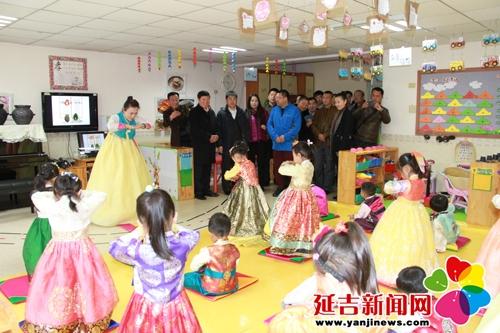 六一幼儿园迎接长春客人调研参观