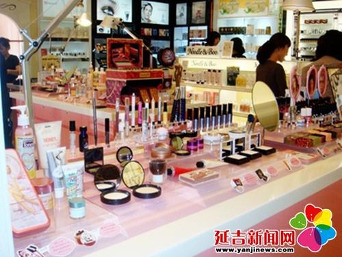韩国化妆品柜台vs延吉化妆品柜台