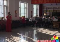 东阳社区红枫艺术团与小红帽艺术团开展文化交流演出