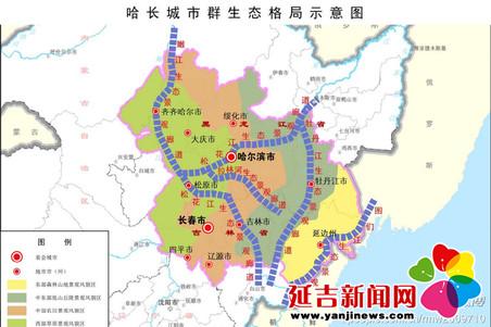 延吉列入哈长城市群中药和软件产业重点布局区图片