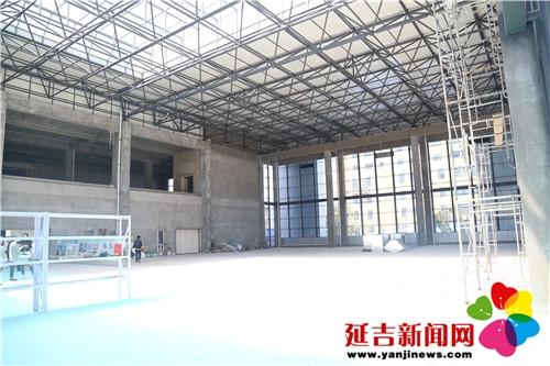 【项目建设】延吉市新少年宫将于年底投入使用
