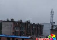 建工街道长青社区开展汛期安全排查工作