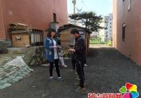 丹吉社区深入辖区开展禁毒宣传活动