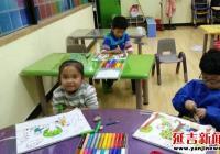 民旺社区组织开展暑期绘画活动