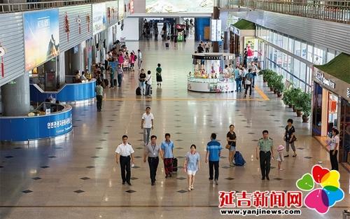 上半年延吉机场国际旅客吞吐量逾31万人次