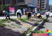 建工街道集中开展环境卫生大整治活动