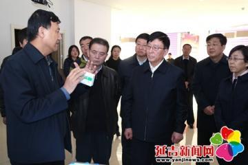 管培俊调研吉林敖东药业集团延吉股份有限公司