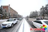 【组图】大雪中延吉的忙、冷、趣、美