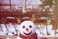 延吉第一场雪