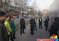白山市组织部带队参观民盛社区