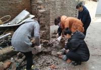 墙体倒塌 社区施救