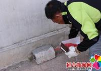 丽阳社区投放鼠药除四害