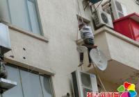 文庆社区全力推进非法卫星地面接收装置拆除工作