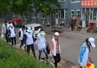 """碧水社区开展""""保护母亲河 阳光义工在行动""""公益活动"""