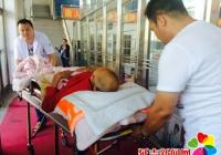小营镇中心卫生院医疗救助队开展抗洪救援工作