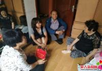 """长青社区为党员家庭挂 """"党员示范家庭""""门牌"""