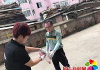 民强社区开展投放 鼠药灭鼠工作