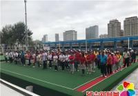 建工街道举办迎8.15老人节社区门球比赛