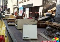 清理废旧杂物 杜绝安全隐患