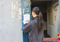 服务群众  进学街道春阳社区积极宣传社会保障卡