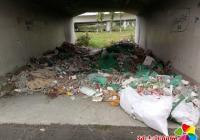 新兴街道开展迎州庆65周年 环境卫生大排查大清理整治活动
