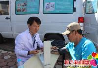 延盛社区开展免费肝检测 居民享健康福利