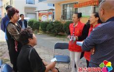春阳社区积极开展全民参保宣传活动
