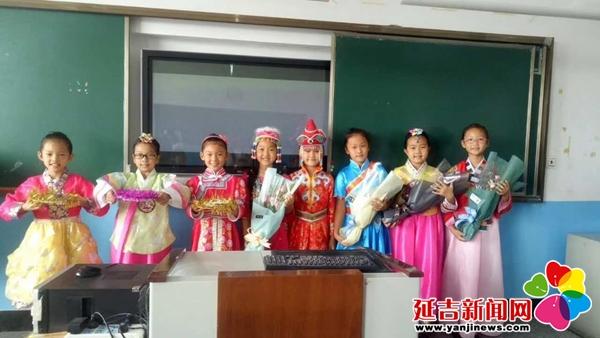 56个民族56枝花 北山小学民族特色展示绽放团结花