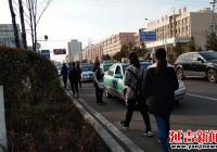 延盛社区开展消防安全宣传活动