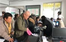 园法社区积极开展低保户换证工作