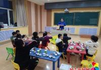 春阳社区携手进学小学开展学习茶文化活动