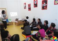 园月社区开展老年人养生保健知识讲座活动