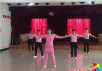 舞蹈培训进社区 丰富群众文化生活