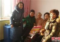 恒润社区老年协会开展慰问福利院老人活动
