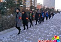 延盛社区组织青少年参加社会实践活动