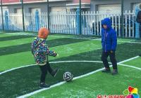 """白丰社区开展""""美丽白丰杯""""寒假小学生足球友谊赛"""