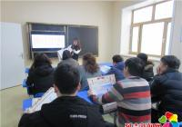 园城社区开展反邪教警示宣传教育活动