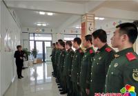 园法社区携消防官兵 学习十九大 共筑中国梦