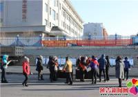 新兴街道在延吉市兴安大集举办 反邪教宣传活动